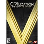 Mac Game Store Deal: Civilization V: The Complete Edition (PC/Mac Digital Download)