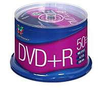 TigerDirect Deal: 50-Pack Color Research 4.7GB DVD+R Discs or Power Up! OEM 120mm Case Fan