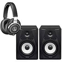 Adorama Deal: Audio-Technica ATH-M70X Headphones + 2x Tascam VL-S5 Speakers