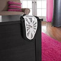 Walmart Deal: Mainstays Melting Clock (various colors) $5 + Free Store Pickup ~ Walmart