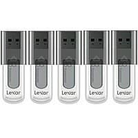 BuyDig Deal: 5-Pack of 8GB Lexar JumpDrive USB Flash Drives (various colors)