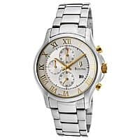 Shnoop Deal: Bulova Men's Chronograph Stainless Steel Bracelet Watch w/ Silver Dial $89.99 + Free Shipping