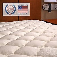 Amazon Deal: Extra Plush Bamboo Rayon Mattress Topper: King $68, Queen