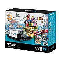 eBay Deal: 32GB Nintendo Wii U Deluxe Set w/ Super Mario 3D World & Nintendo Land