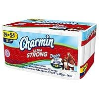 Target Deal: 72-Ct Charmin Ultra Double Plus Toilet Paper + $10 Target Gift Card