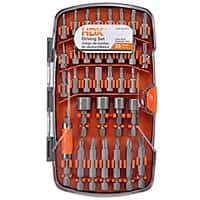 Home Depot Deal: 17-Piece HDX Drilling Set or 35-Piece HDX Driving Set
