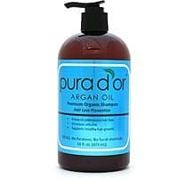 Amazon Deal: 16oz Pura d'or Hair Loss Prevention Shampoo