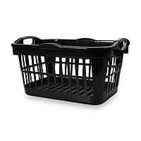 Kmart Deal: Essential Home 2.0 Bushel Laundry Basket (Black or White) $5 + Free Store Pickup ~ Kmart