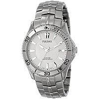 Shnoop Deal: Pulsar by Seiko Men's On the Go Collection Titanium Finish Steel Watch $34.95 + Free Shipping