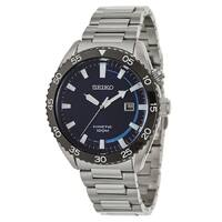 Blingdaily Deal: Seiko Men's SKA623 Blue Dial Stainless Steel Watch