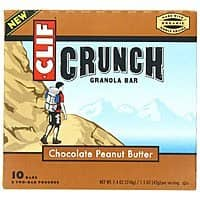 Amazon Deal: 10-Count Clif Crunch Granola Bars (Chocolate Peanut Butter)