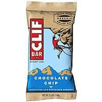 Amazon Deal: 12-Pack of 2.4oz Clif Energy Bars (Chocolate Chip)