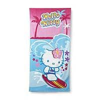 Kmart Deal: Beach Towel Clearance: Sanrio Hello Kitty or Shark $4 & More + Free Store Pickup ~ Kmart or Sears *YMMV*