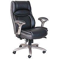 Serta Smart Layers Jennings Super Task Big & Tall Chair (Black/Slate)