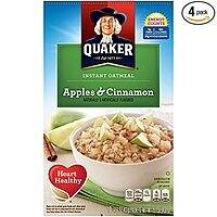 4-Pack of 10-Count Quaker Instant Oatmeal (Various Flavors)