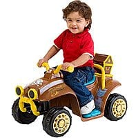 Jake and the Never Land Pirates Quad 6V Battery-Powered Ride-On