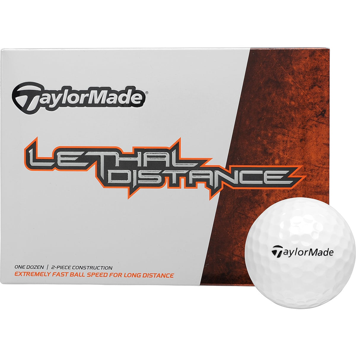 2x 12-Pack Golf Balls: TaylorMade Lethal $23.75, NIKE NDX Turbo  $19.50 + Free Shipping