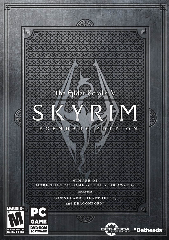 The Elder Scrolls V: Skyrim Legendary Edition (PC Digital Download)  $13.60