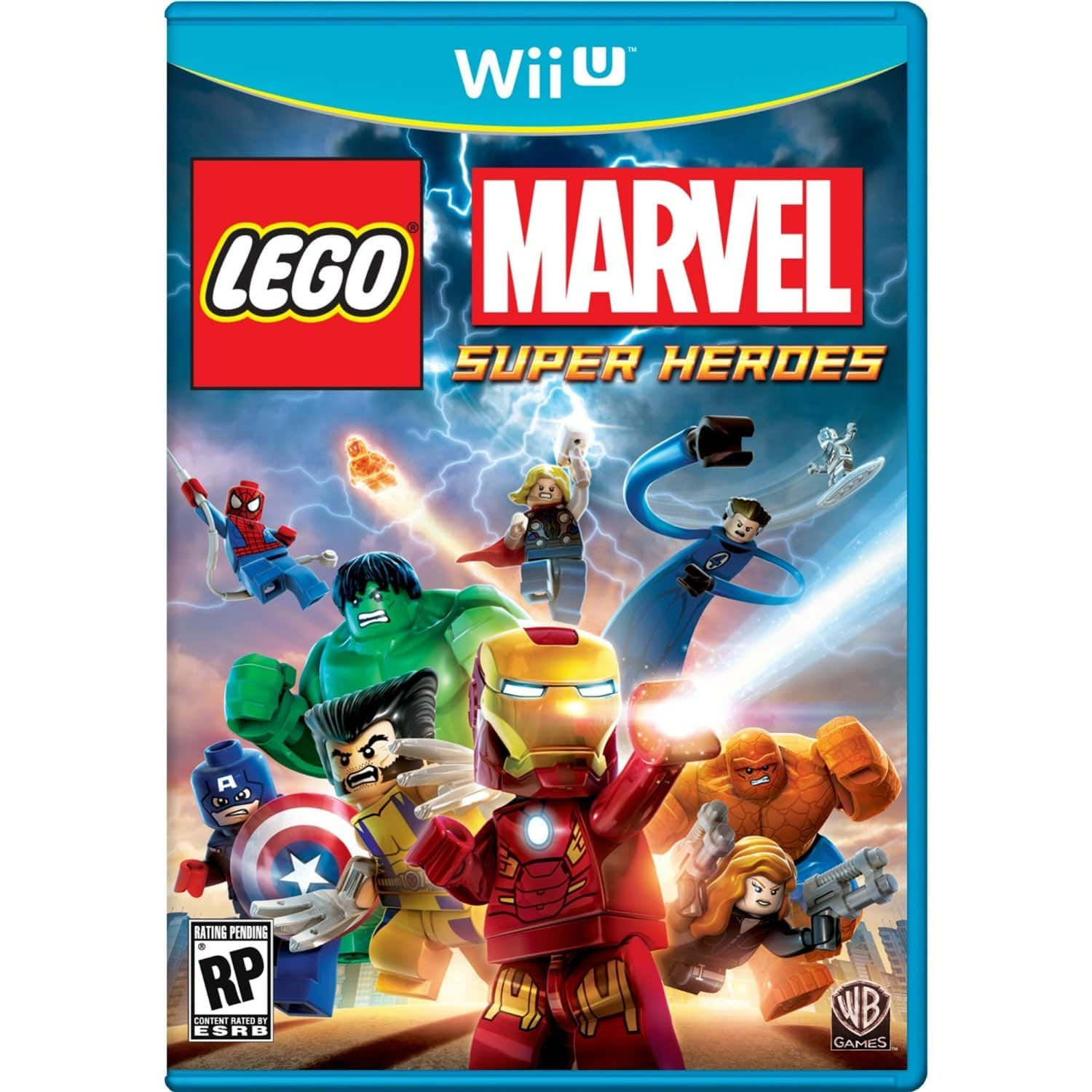 Lego Marvel Super Heroes (Nintendo Wii U, 3DS, PS3 or PC Digital Download)  $20