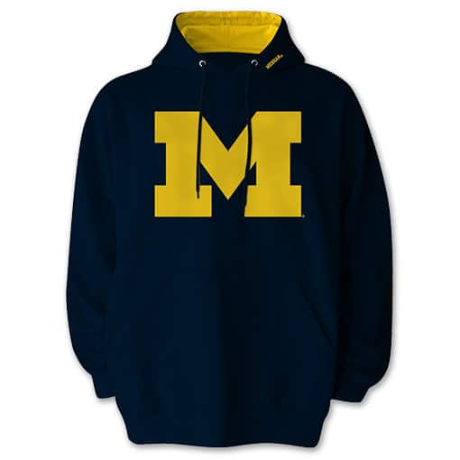 Men's or Women's NCAA Fleece Hoodies  2 for $40 + Free Shipping