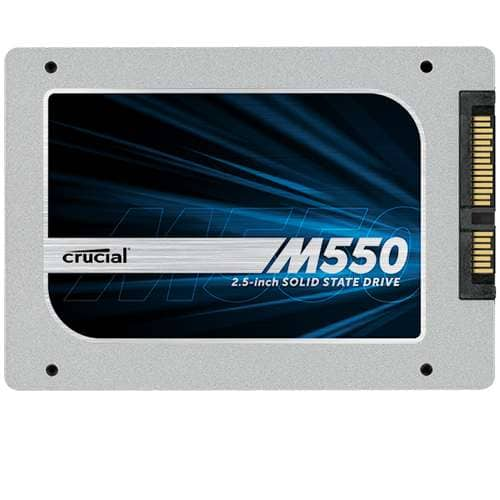 """512 GB Crucial M550 2.5"""" SATA MLC 7mm Solid State Drive (CT512M550SSD1) for $214.99 AC (or less) + Free Shipping @ TigerDirect.com (1 TB Also Available For $399.99 AC)"""