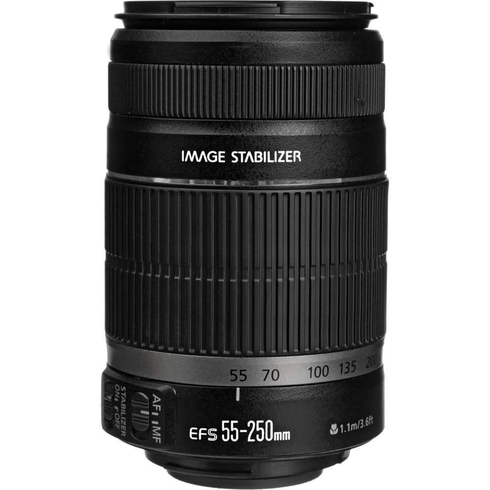 Canon Refurbished Lenses: 55-250mm IS II $85, 75-300mm  $83 + Free Shipping