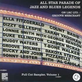 All Star Parade of Jazz and Blues Legends, Vol. 1 &2 MP3 Album  Downloads (Inc. Ella Fitzgerald/Louis Armstrong/Muddy Waters & more) Free ~ Amazon