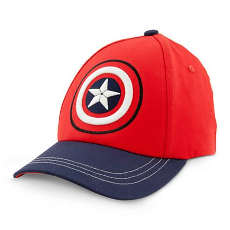 Personalized Captain America Baseball Hat (child size)- $9.95 shipped from DisneyStore.com