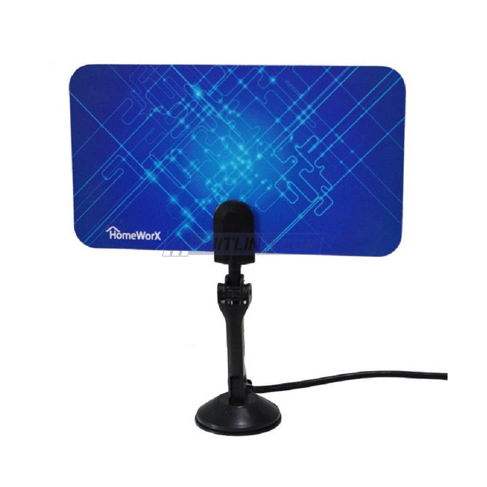 HomeWorx Flat UHF & VHF HDTV Antenna  $7 + Free Shipping