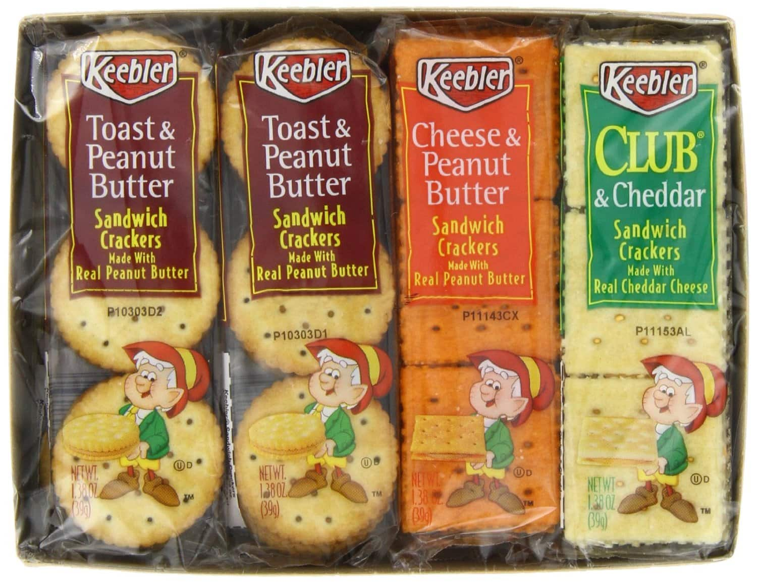 36-Pack Cheez-it Crackers $12, 6-Pack of 8-Ct Keebler Sandwich Crackers  $10.50 & More + Free Shipping