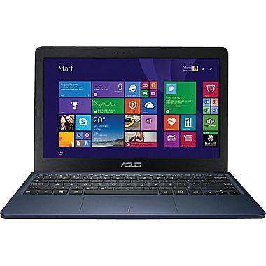 "ASUS X205TA Laptop: 1.83GHz CPU, 11.6"" 1366x768, 2GB DDR3, 32GB eMMC, Win 8.1  $150 + Free Shipping"