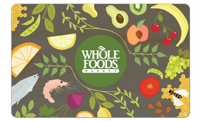Whole Foods - get a free $5 promo card after buying $20 gift card (it's like getting 20% off)