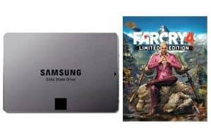"250GB Samsung 840 EVO 2.5"" SSD + Far Cry 4 (PC Digital Download)  $100 w/ VISA Checkout + Free Shipping"