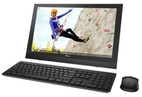 "Dell Inspiron 20 All-In-One 19.5"" Touchscreen PC: N2830 CPU, 4GB DDR3, Win 8.1  $249 + Free Shipping"