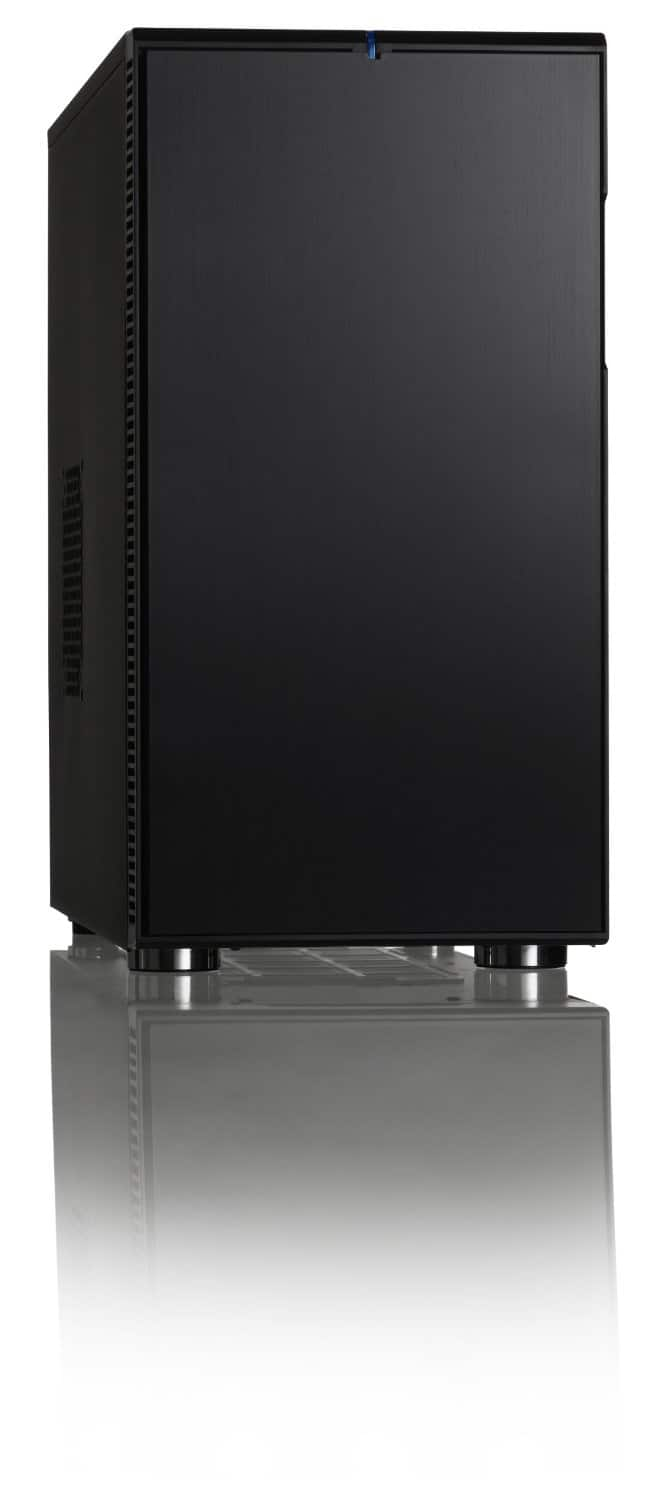 Fractal Design Define R4 Silent Windowed ATX Mid Tower Computer Case w/ USB 3.0 (Black Pearl) - $64.99 w/ MasterPass & Mobile Checkout + Free Shipping @ Newegg.com