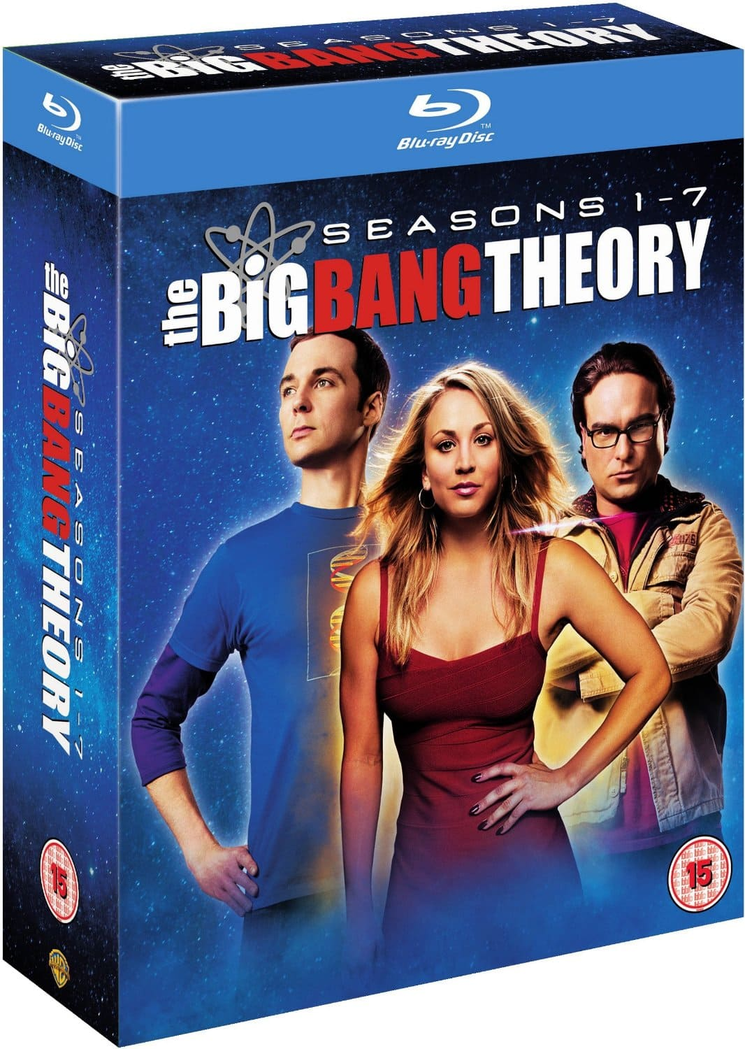 The Big Bang Theory: Seasons 1-7 Blu-ray $33 Shipped
