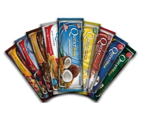12-Count Quest Protein Bars (various flavors)  $20 + Free Shipping