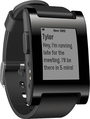 Pebble smart watch $80 (maybe $60 after edu coupon) bestbuy