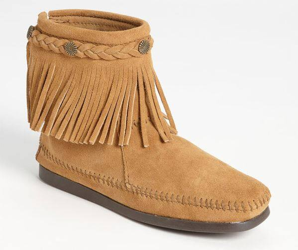 Minnetonka Back Zip Ankle Boot 60% off at Nordstrom = $22.97 + tax free shipping
