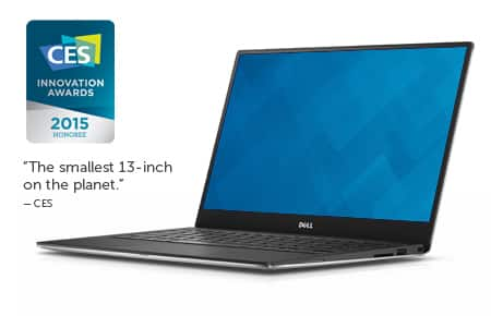 Dell Coupon: Refurbished Dell XPS 13 Laptops  25% Off + Free Shipping