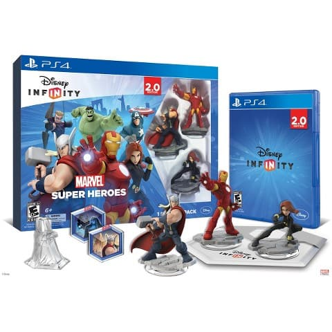 Disney Infinity: Marvel Super Heroes 2.0 Edition (PS4)  $24.50 & More + Free Store Pickup