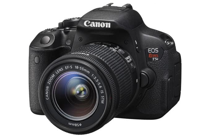 Canon Refurbished Sale: EOS Rebel T5i DSLR Camera + 18-55mm Lens  $450 & More + Free Shipping