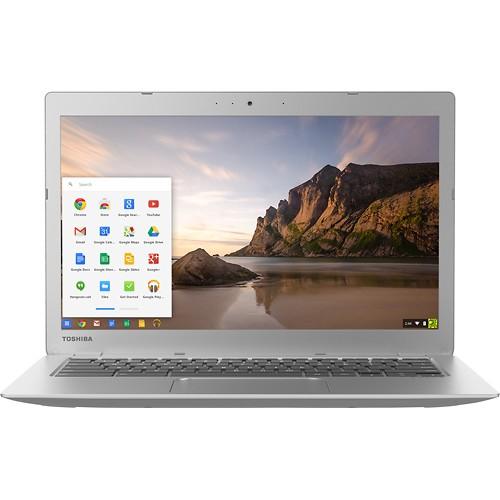 "Toshiba - 13.3"" Chromebook 2 - 4GB Memory - 16GB Solid State Drive $249.00"