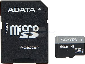 Flash Memory Deals: 64 GB ADATA Premier Class 10 UHS-1 microSDXC Flash Card with Adapter for $19.98 Shipped & More @ Newegg.com