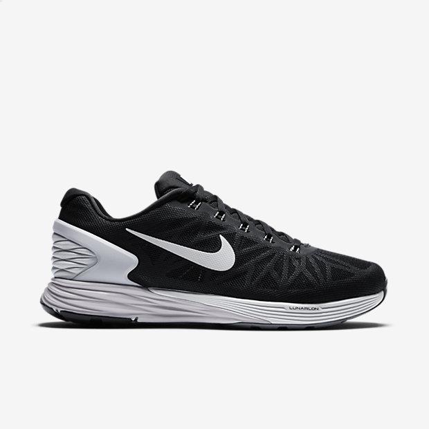 Nike LunarGlide 6 Men's - Black - All Sizes - $51.98 + FS