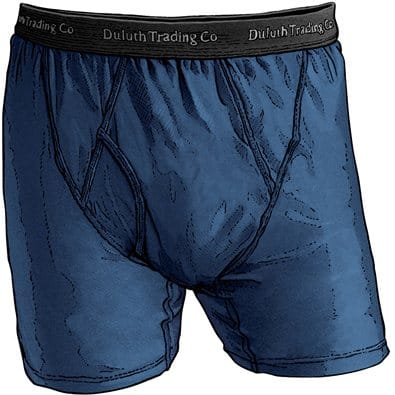Duluth Trading Co. Buck Naked Boxer Briefs 2+ Pair $15 ea + S&H