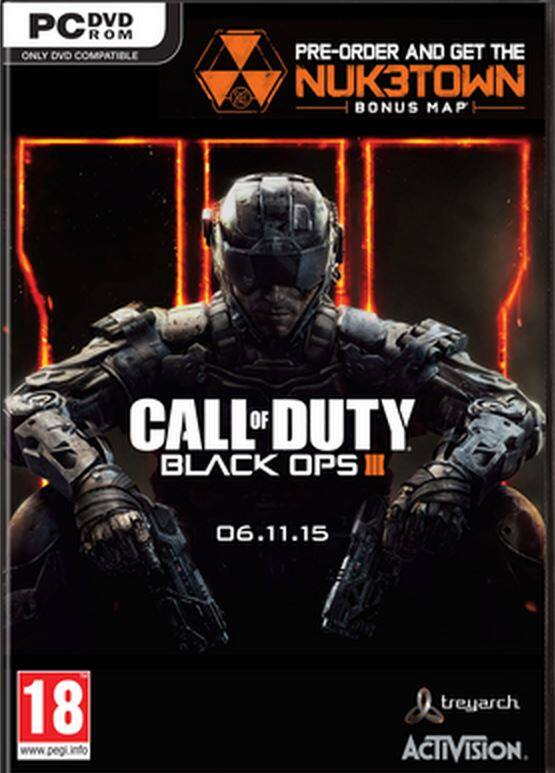 Call of Duty: Black Ops III + Nuketown DLC (PC Digital Download) $35 or Less