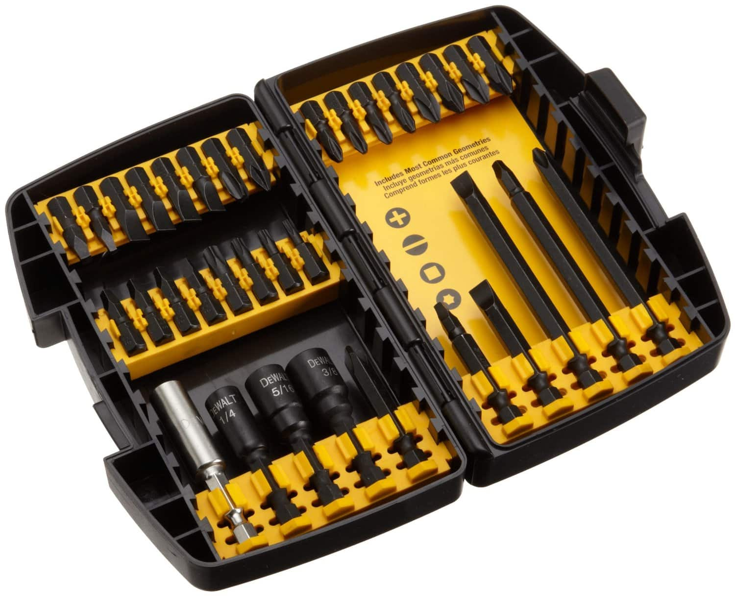 35-Piece Milwaukee Shockwave Impact Duty Steel Driver Bit Set $10