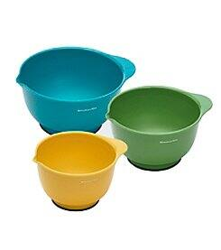 3-Piece KitchenAid Mixing Bowl Set (various colors) $9.97 + Free Shipping