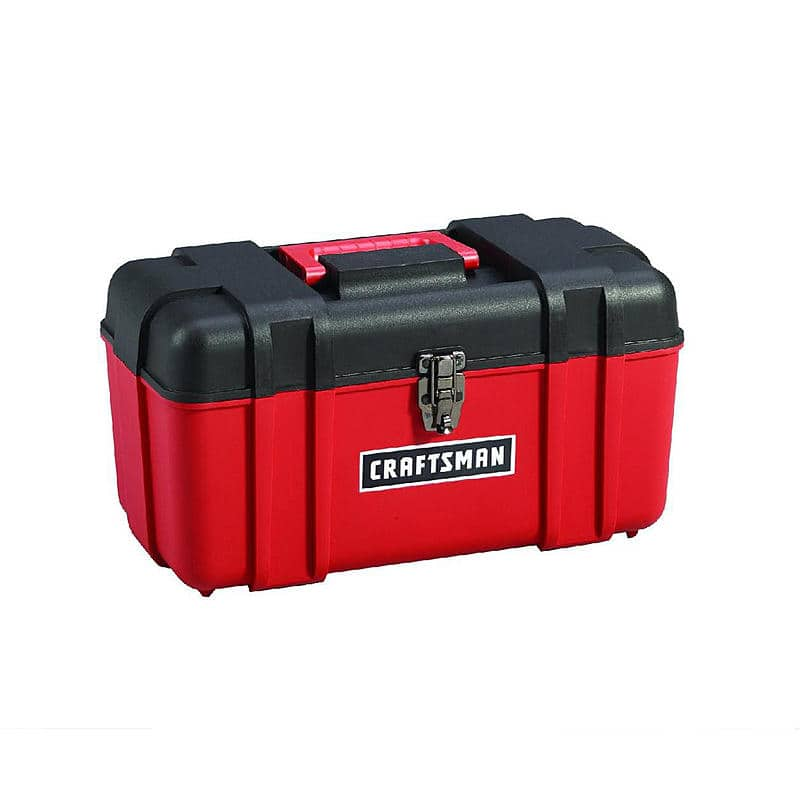 "17"" Craftsman Hand Tool Box $4.99 + Free Store Pickup ~ Sears Outlet"